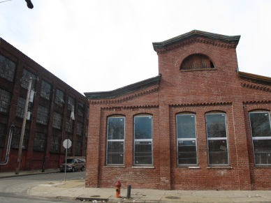 Kensington's once vacant factories and warehouses, like the one above, are now being refurbished for art spaces or renovated housing.
